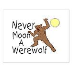 Moon A Werewolf Small Poster