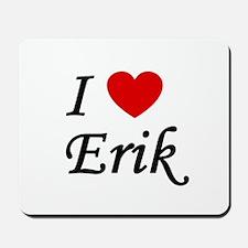 I Heart Erik Mousepad