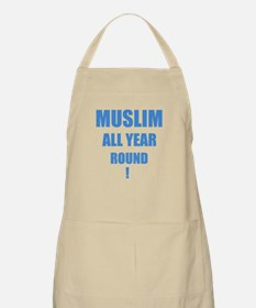 Click here for Blue Text BBQ Apron