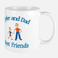 Tyler and Dad - Best Friends Mug
