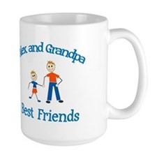 Alex & Grandpa - Best Friends Mug