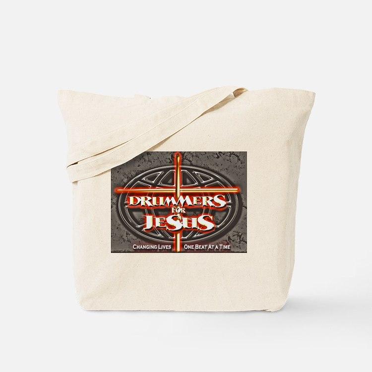 Cute Drummers for jesus Tote Bag