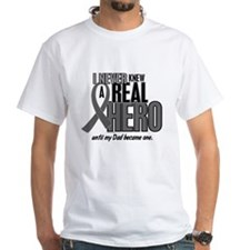 Never Knew A Hero 2 Grey (Dad) Shirt