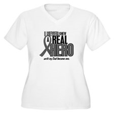 Never Knew A Hero 2 Grey (Dad) T-Shirt