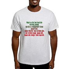 John 3:16 Afrikaans T-Shirt
