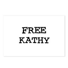 Free Kathy Postcards (Package of 8)