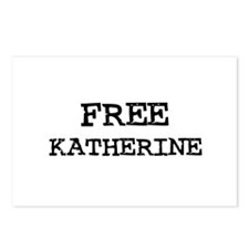Free Katherine Postcards (Package of 8)