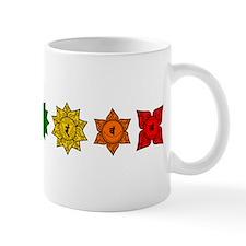 Chakras in Line 2 Small Mug