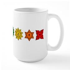 Chakras in Line 2 Mug