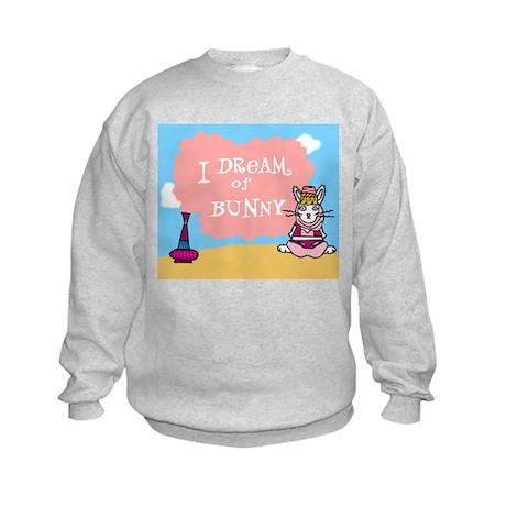 I Dream Of Bunny Kids Sweatshirt