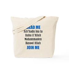 Read Me Join Me - Shahada Tote Bag
