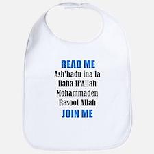 Read Me Join Me - Shahada Bib