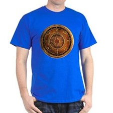 Compass Rose in Brown T-Shirt