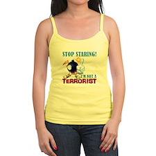 Stop Staring, Not a Terrorist Jr.Spaghetti Strap