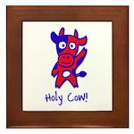 Holy Cow Framed Tile