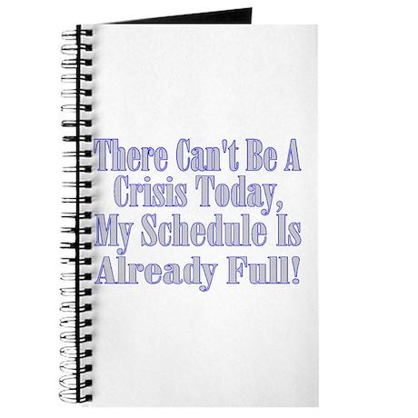 Full Schedule Journal