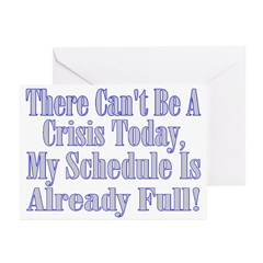 Full Schedule Greeting Cards (Pk of 20)