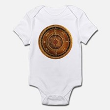 Compass Rose in Brown Infant Bodysuit