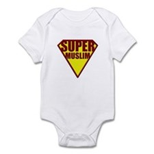 Super Muslim - Larger Logo Onesie