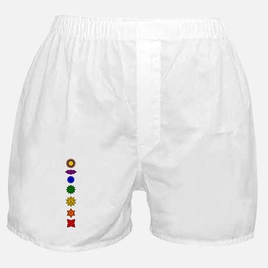 Chakra Mandala Line Boxer Shorts