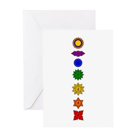 Chakra Mandala Line Greeting Card