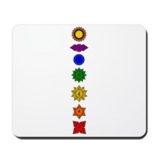 Chakra Mandala Line Mousepad