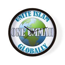 Unite Islam Globally Wall Clock