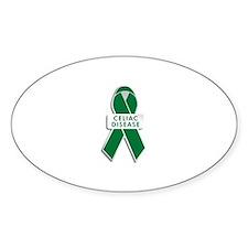 Celiac Disease Awareness Oval Decal