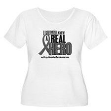 Never Knew A Hero 2 Grey (Grandmother) T-Shirt