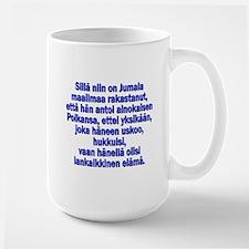 John 3:16 Finnish Mug