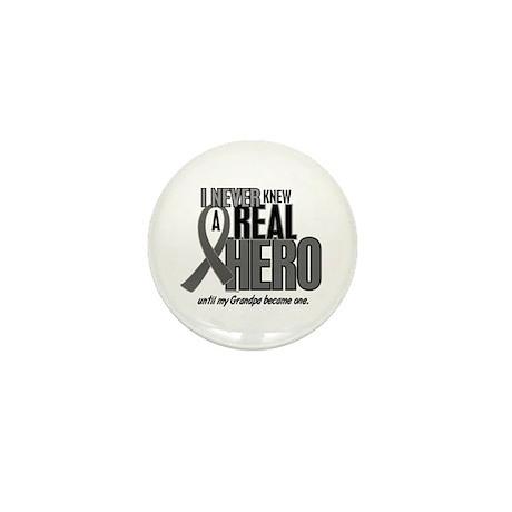 Never Knew A Hero 2 Grey (Grandpa) Mini Button