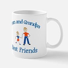 Evan & Grandpa - Best Friends Mug
