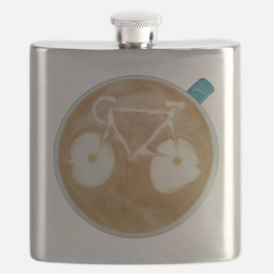 Cute Mountain bike Flask