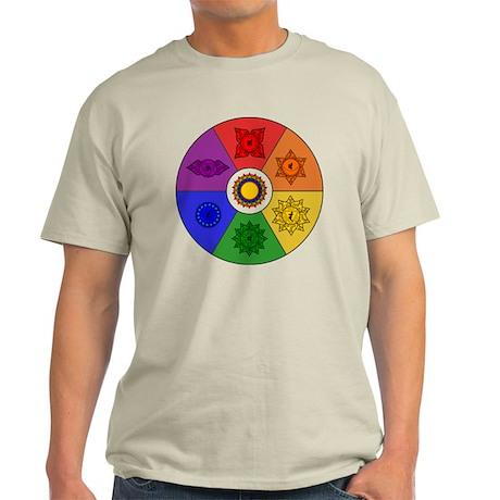 Chakra Color Wheel Light T-Shirt