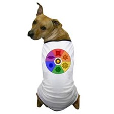 Chakra Color Wheel Dog T-Shirt
