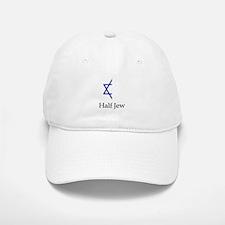 Half Jew Baseball Baseball Cap