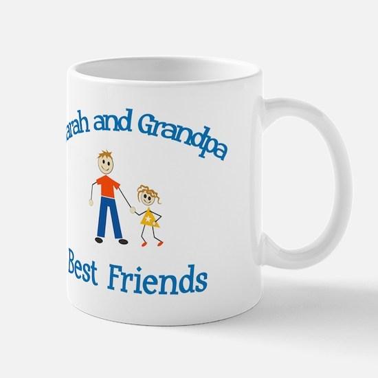 Sarah & Grandpa - Best Friend Mug