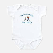 Jackson & Grandpa - Best Frie Infant Bodysuit