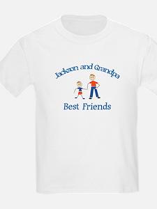Jackson & Grandpa - Best Frie T-Shirt