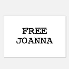 Free Joanna Postcards (Package of 8)