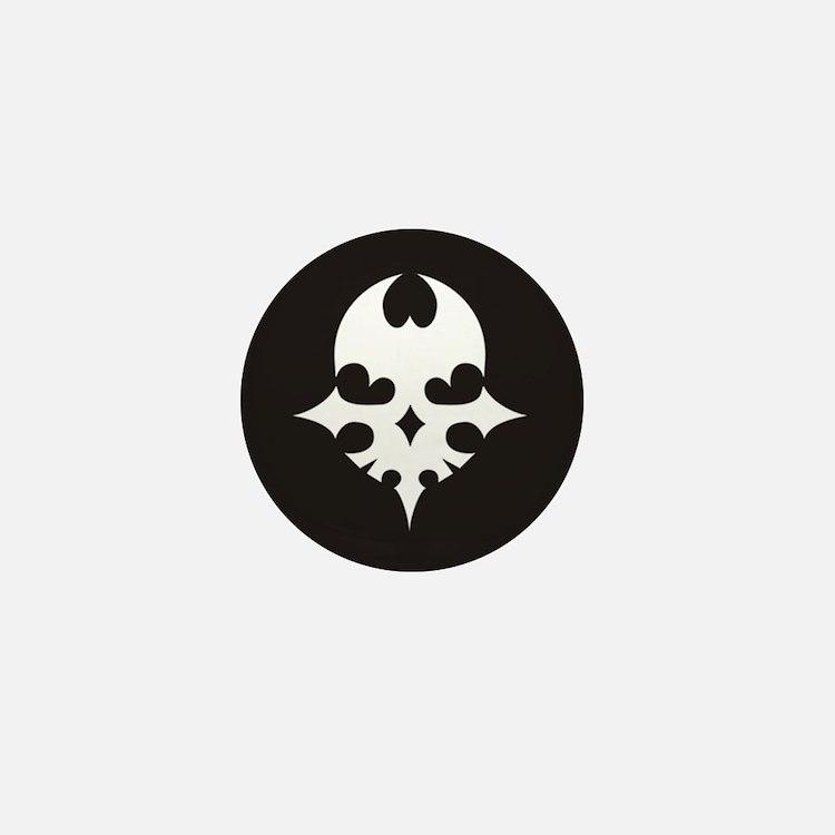 TWEWY Skull (Black) Mini Button