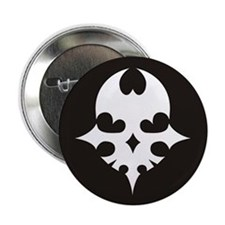 "TWEWY Skull (Black) 2.25"" Button"