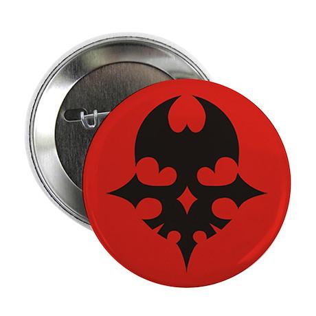 "TWEWY Skull (Red) 2.25"" Button"