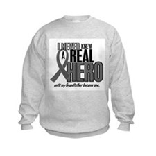Never Knew A Hero 2 Grey (Grandfather) Sweatshirt