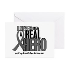 Never Knew A Hero 2 Grey (Grandfather) Greeting Ca