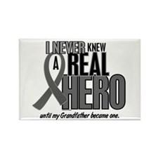 Never Knew A Hero 2 Grey (Grandfather) Rectangle M