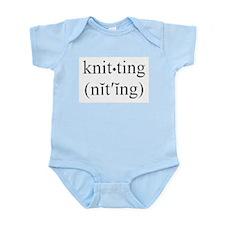 Yarn Snob Infant Creeper