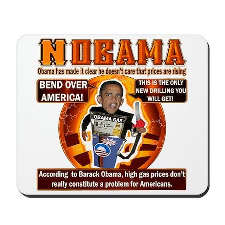 NOBAMA anti high gas Mousepad