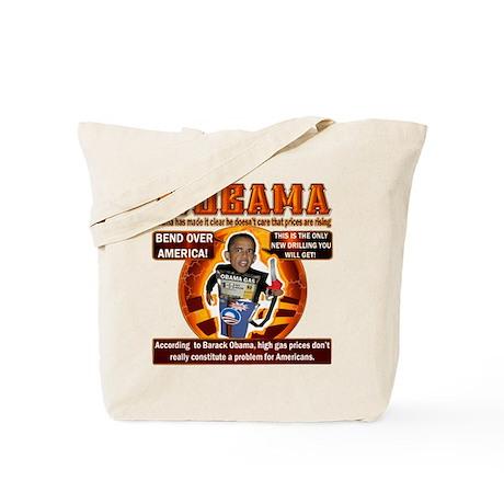 NOBAMA anti high gas Tote Bag