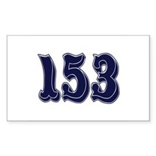 153 Rectangle Decal